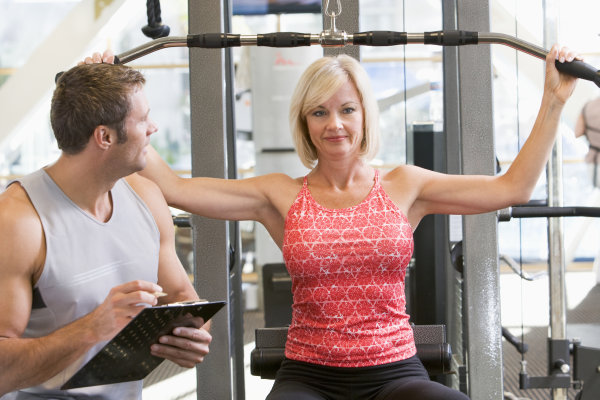 personal trainer, corporate fitness center management