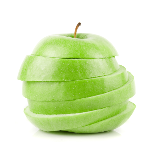 healthy choices for kids, sliced apples