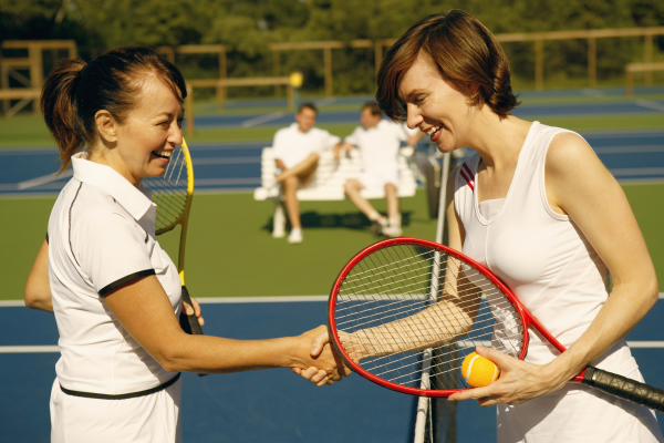tennis, women, exercise, competition