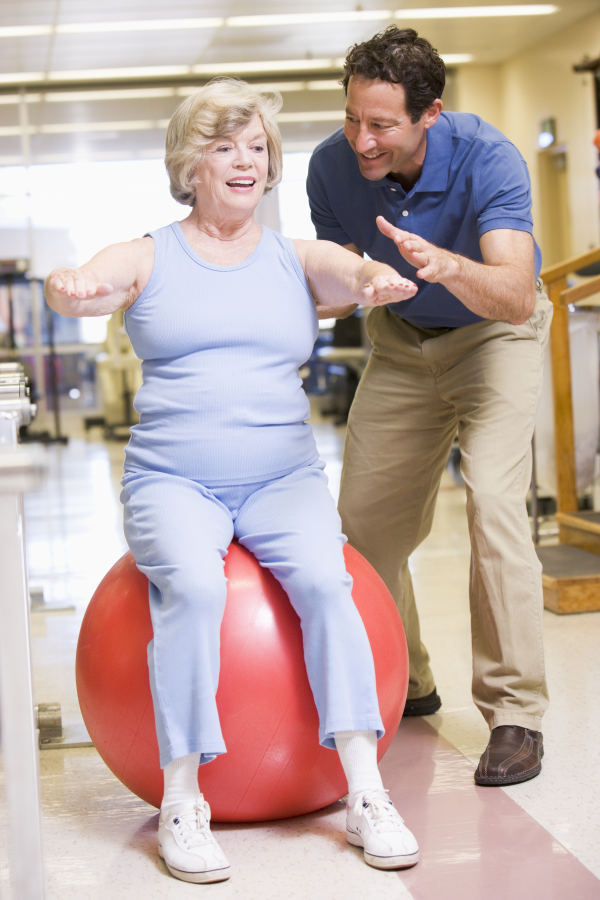 senior balance, fitness training