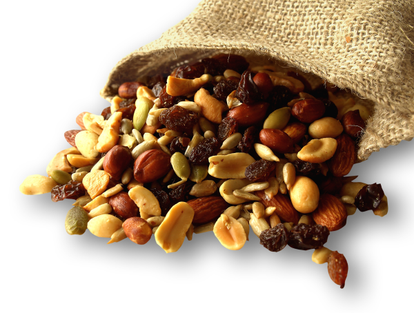 healthy snacks, trail mix, snacking at work