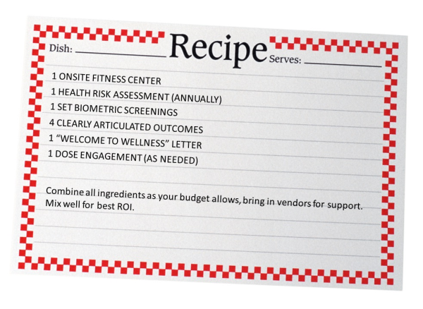 Recipe for employee engagement