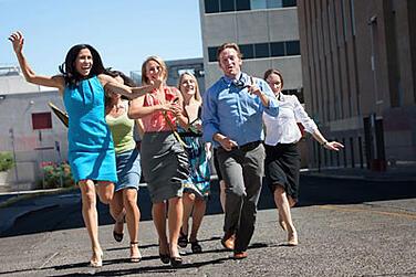 Employee Exercise Break