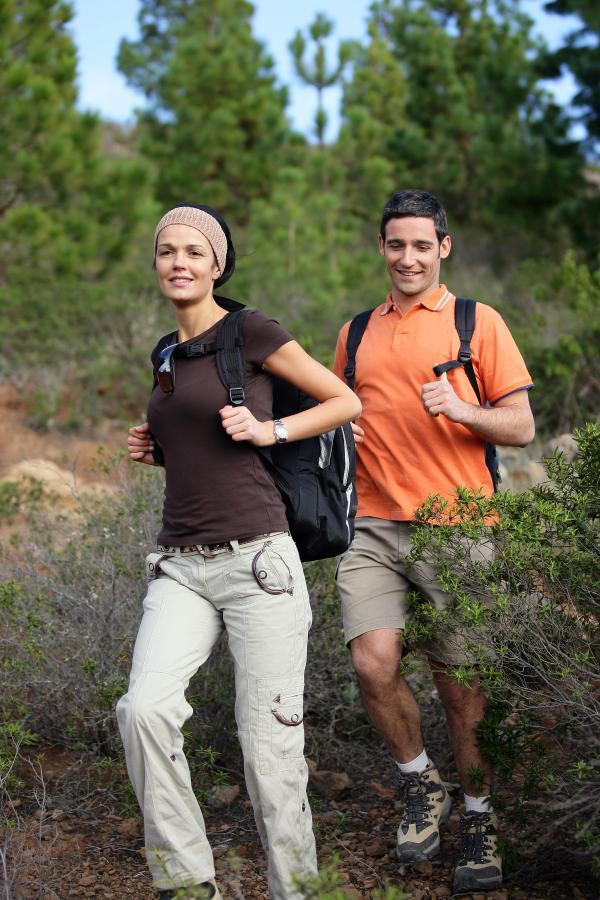 hiking, active weekend