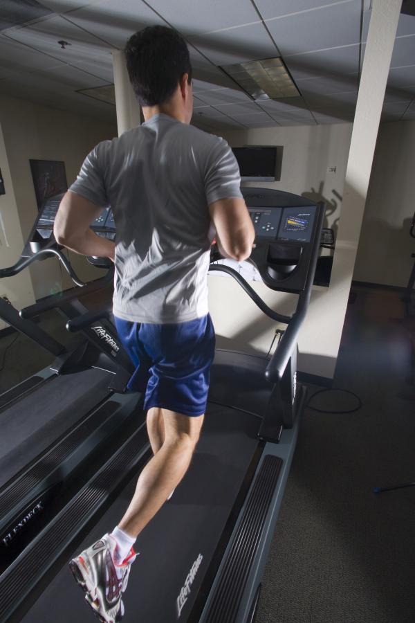 corporate fitness treadmill