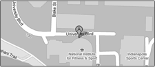 Directions to the National Institute for Fitness