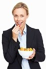 woman eating fruit resized 600