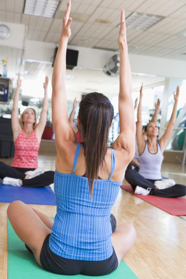 workplace yoga, stretching, flexibility