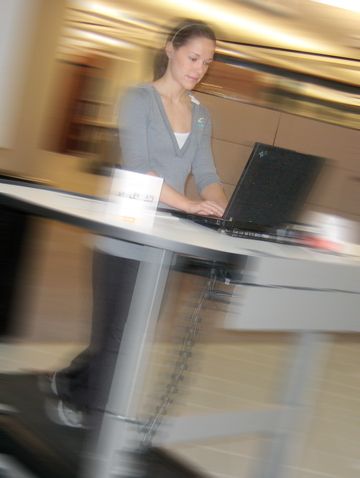 corporate exercise workstation
