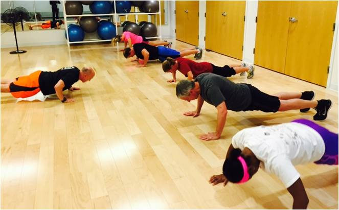 NIFS   Corporate Fitness Class