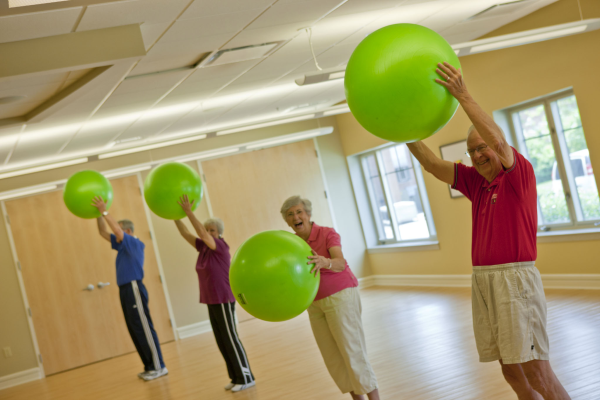 active aging group fitness
