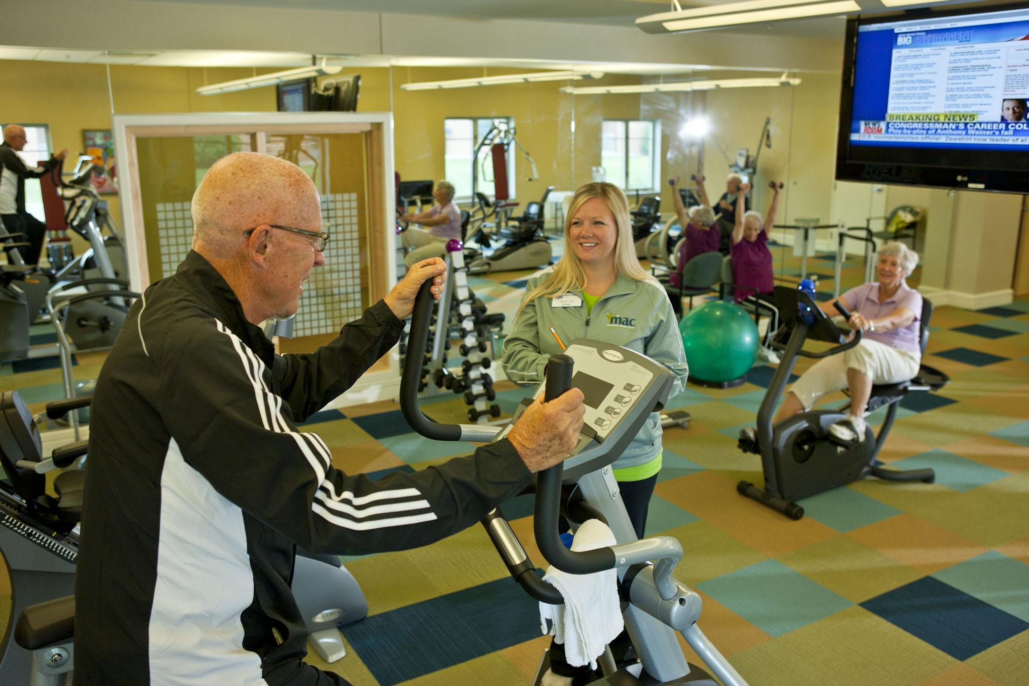 senior living fitness