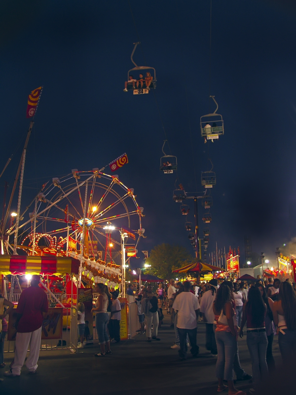 midway at the fair