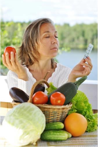 food vs supplement