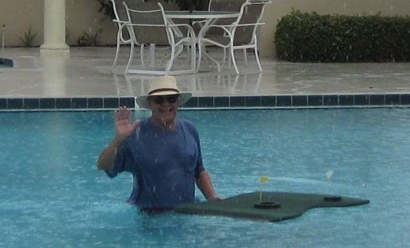 Mr. Morrissey I%27m getting wet Aqua Golf