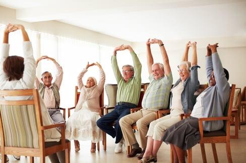 NIFS | seniors seated stretching