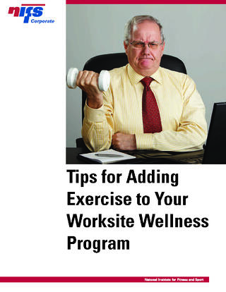 NIFS | Adding Exercise To Your Corporate Wellness Program