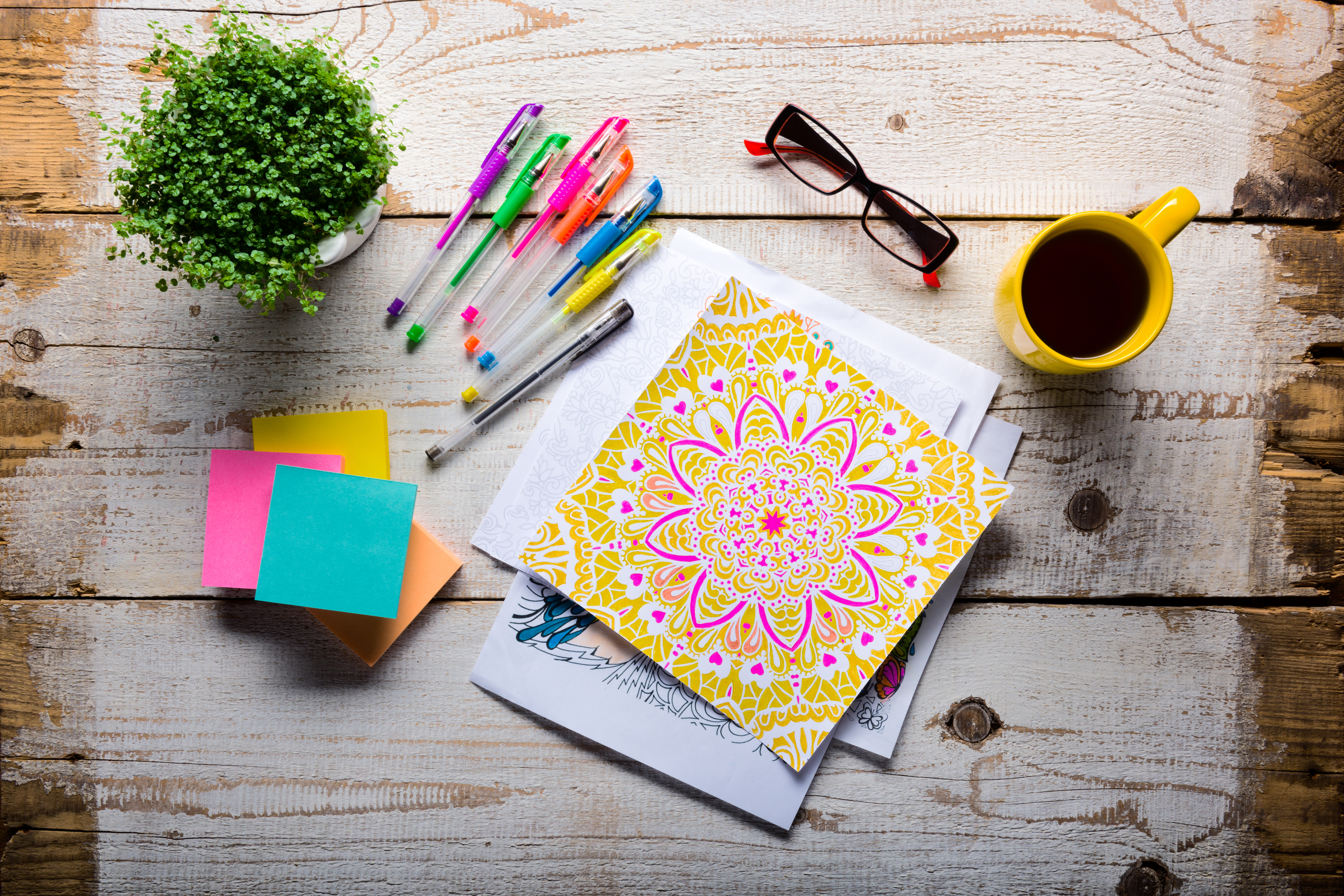 NIFS | Coloring  | Stress Relief