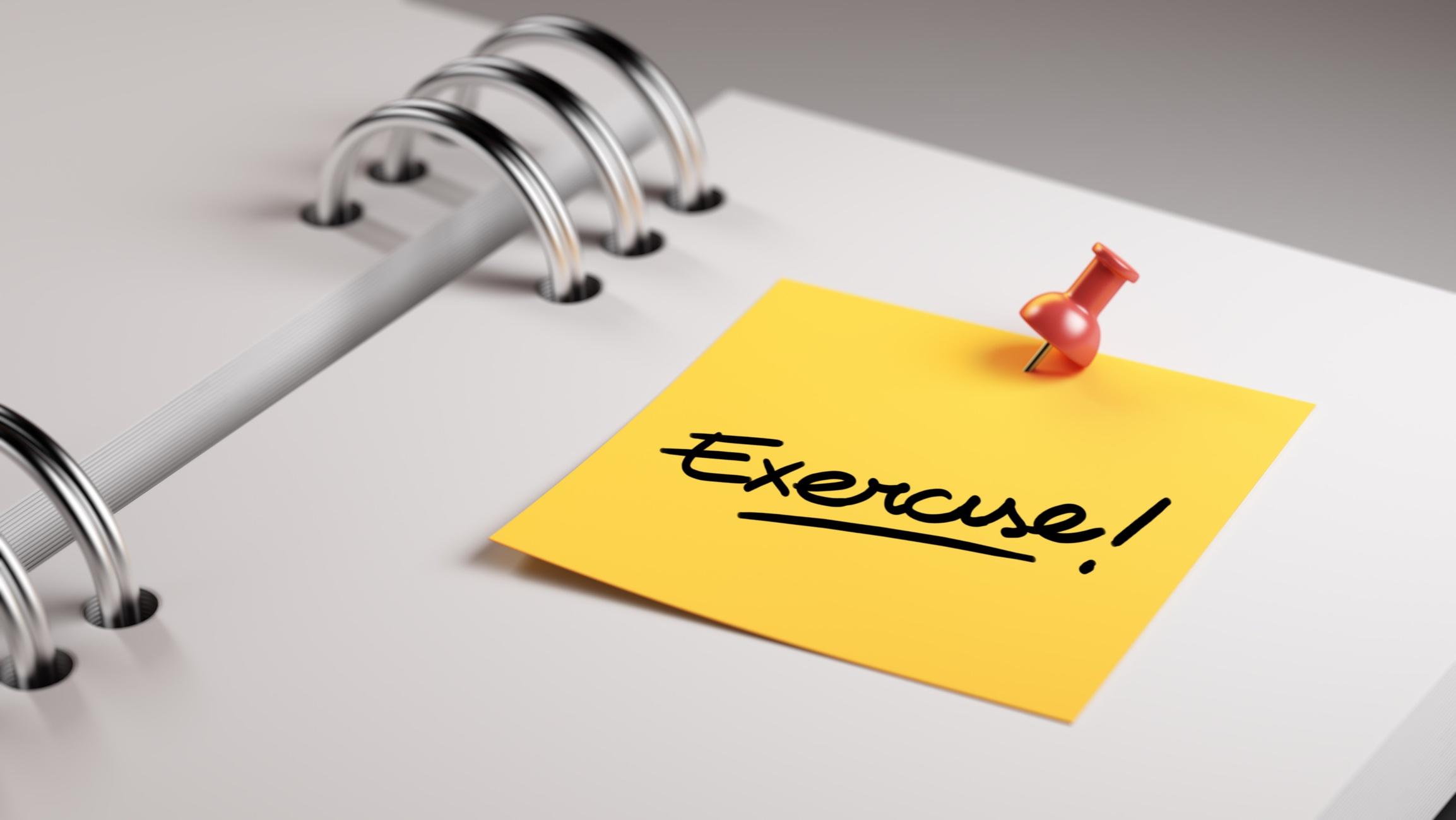 NIFS   Exercise Reminder