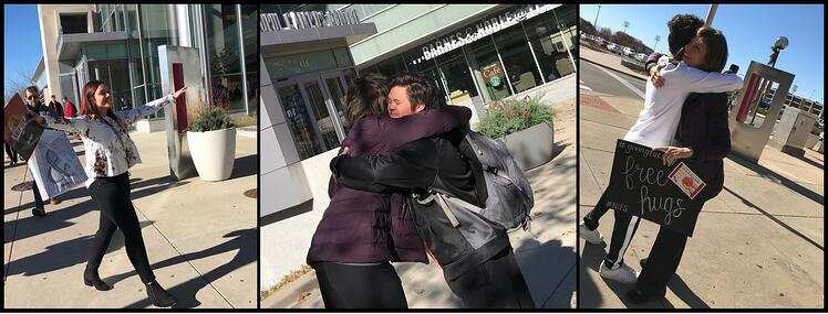 Giving Tuesday NIFS Free Hugs