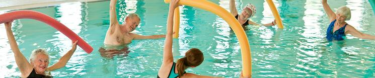 water aerobics for seniors