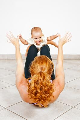 NIFS | Mom and baby exercising