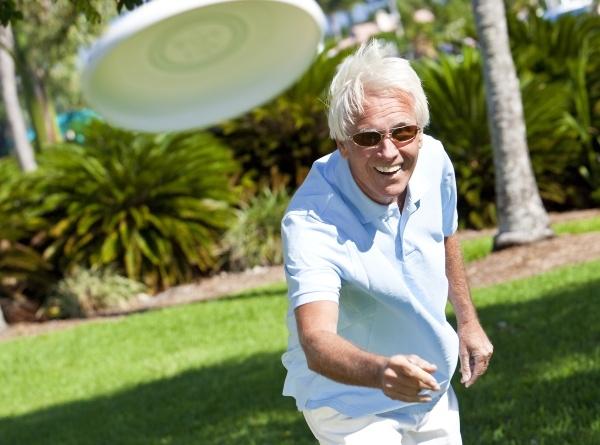 NIFS   Playing Frisbee
