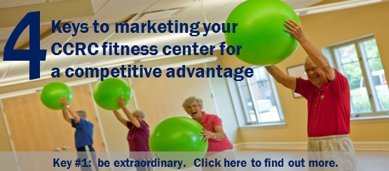 CCRC Fitness Center Marketing